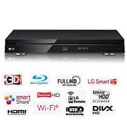 3D Blu Ray Player Recorder