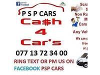 Scrap car s wanted