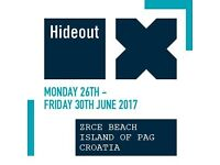 VIP Hideout Tickets