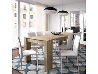 Melrose Extending Oak Effect Dining Table