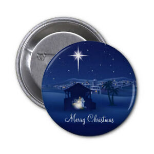 Christmas Pinback Buttons .. or create your own Buttons Cambridge Kitchener Area image 7