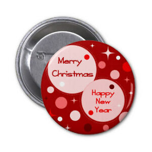 Christmas Pinback Buttons .. or create your own Buttons Cambridge Kitchener Area image 4