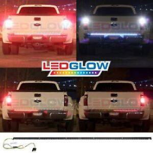 Flexible led strip lights find great deals on used and new cars 60 truck tailgate red led light bar strip brake rear turn signa mozeypictures Choice Image
