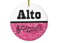 Lovely Alto singer (with low range)
