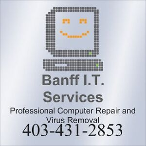 Affordable Computer Repair in Banff and Canmore