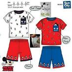 Disney Mickey Mouse Pyjama - Shortama - Rood - 98