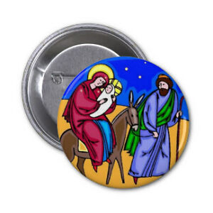 Christmas Pinback Buttons .. or create your own Buttons