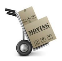 Student movers and driver to help with a staging company