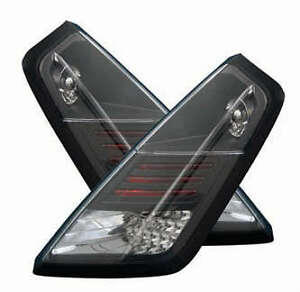 FIAT GRANDE PUNTO BLACK LED LEXUS REAR TAIL LIGHTS