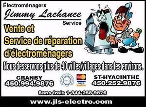 RÉPARATION ÉLECTROMÉNAGERS