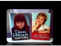 COMEDIENNE BIOGRAPHIES - DAWN FRENCH & JULIE WALTERS - (2) - FOR SALE