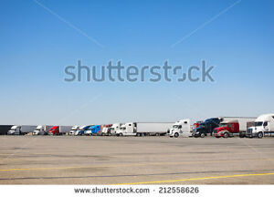 Parking Truck and Trailer