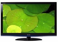 Sharp 32 Inch Full HD LCD TV LC32DH77E - Freeview builtin, HDMI, Scarts, USB and PC input