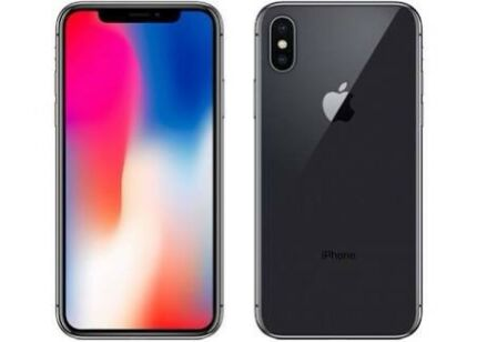 iPhone X 64gb space grey (brand new, unlocked)