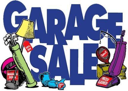 Garage Sale, Saturday 25th Nov 7am-1pm