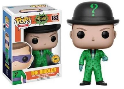 Riddler, Zero with bone and Hellboy Chases