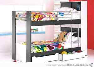 Harvey Norman Bunk Bed with Hidden storage Aberglasslyn Maitland Area Preview