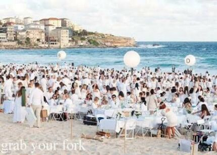 Selling 2x Diner en Blanc tickets with alcohol