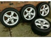 W209 alloys good tyres