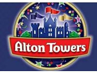 Alton towers ticket x2 friday 20th july