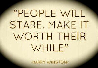 People will Stare Decor