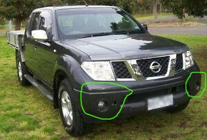 Nissan Navara D40 2005 to 2015 Driving / Fog Lights lamps Complete Kit