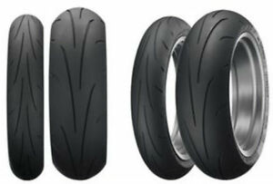 Dunlop Sportmax Q3  - 120/70 and 180/55