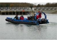 Sea rover 21d work boat / taxi