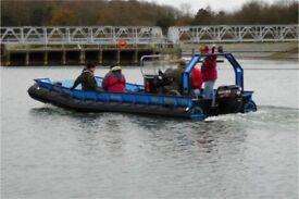 Sea rover 21d work boat