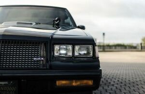 1986-87 Buick grand national, T-Type, Turbo Regal