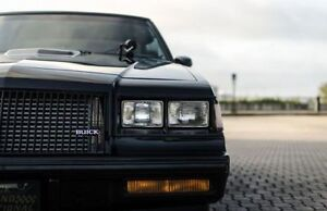 1986-1987 Buick Grand National, T-Type, Turbo Regal