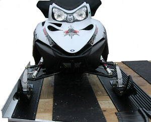 Snow Mobile Trailer Ski Guides, tires and jacks