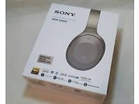 Sony 1000x Noise Cancelling Headphones - Brand New, Sealed with Receipt and Warranty
