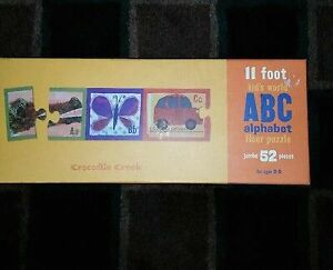 11 foot kids world ABC alphabet floor puzzle Macquarie Fields Campbelltown Area Preview