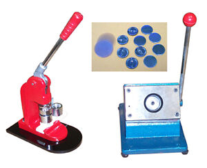 "New 1-3/4"" Button Maker Press Machine+DieCutter+buttons"