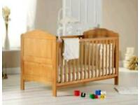 Lovely solid wood cotbed