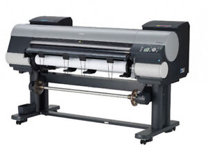 "iPF 8400 Canon 44"" Wide Format Photo Printer for Sale"