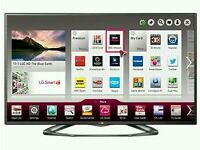 "LG 42"" LED smart Wi-Fi tv built USB MEDIA PLAYER HD FREEVIEW and freesat full hd 1080p ."