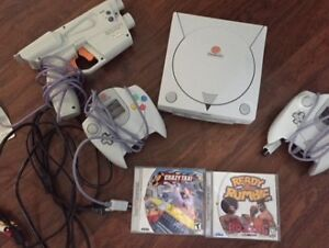 for sale/trade sega dreamcast with games