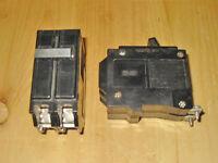 COMMANDER 20 AMP 2 POLE CIRCUIT BREAKERS (QBH220) ~ RARE!