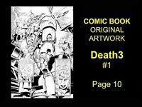 MARVEL Comics ORIGINAL ART Comic Book Pages