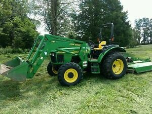 2003 John Deere 5420 4WD Tractor With Loader and Backhoe