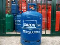 Gas bottles empty £15
