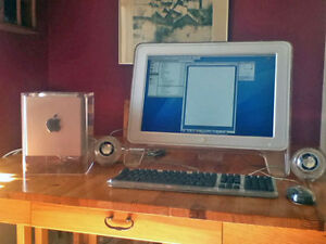 Classic Apple Cube and Cinema Display Belleville Belleville Area image 1