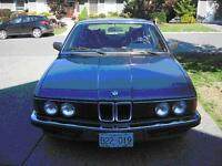 1986 BMW 745i Turbo 6 Cylinder