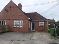 Lovely, spacious one bed bungalow with good size garden and off road parking