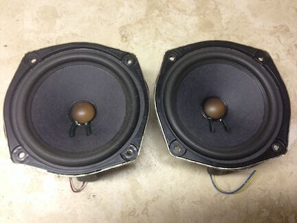 Bose Car Audio 4 5 6 5 6x9 Inch Speakers And Tweeters General