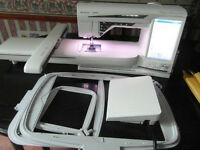 Husqvarna Designer Deluxe Sewing and Embroidery Machine