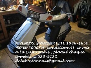 SCOOTER HONDA ELITE CH80 1986