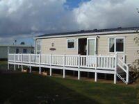 2 and 3 Bedroom Caravans to let at Seton Sands Scotland